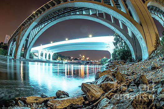Under the Bridges in Mpls by Habashy Photography