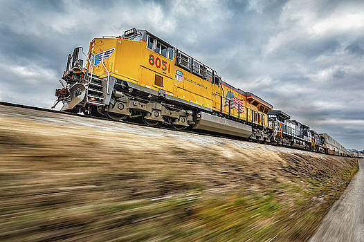 Union Pacific 8051 by Greg Booher