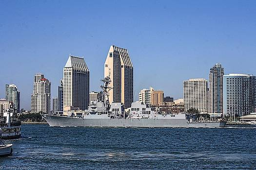 uSS Spruance DDG 111 by Tommy Anderson