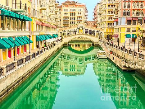 Venice Doha reflection by Benny Marty