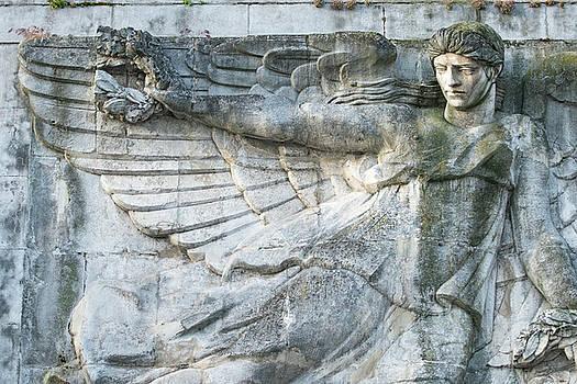 Victory In Flight Monument, Tournon by Jim Engelbrecht