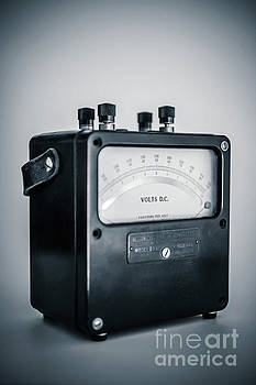 Vintage Electric Meter by Edward Fielding