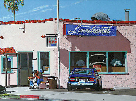 Waiting for the Laundry by Michael Ward