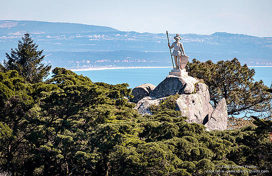 Warrior Statue by Fabio Gomes Freitas