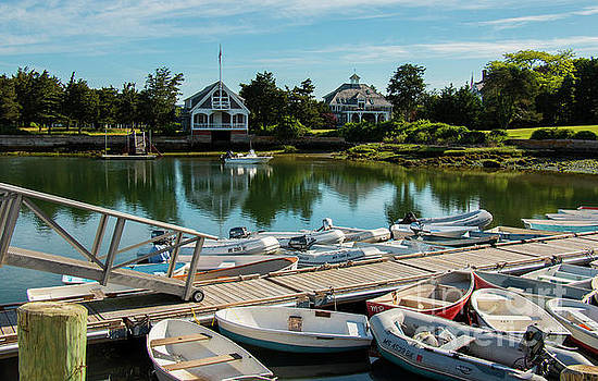West Falmouth Harbor by Sharon Mayhak