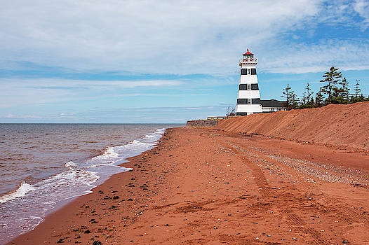 West Point Lighthouse by Eunice Gibb