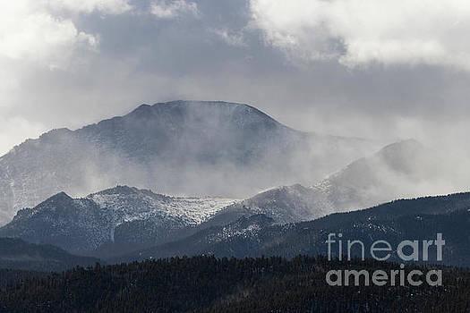 Steve Krull - Winter Storm on Pikes Peak