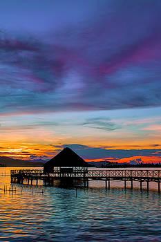 Yandup Island Sunset by Jackson Ball