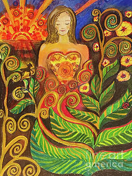 Zen Morning by Shelley Myers