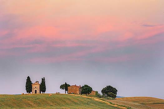 Cappella Vitaleta, Tuscany - Italy by Joana Kruse
