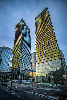 Modern Style Architecture And Other Buildings In Las Vegas Nevad by Alex Grichenko