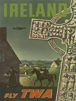 Vintage poster - Ireland by Vintage Images
