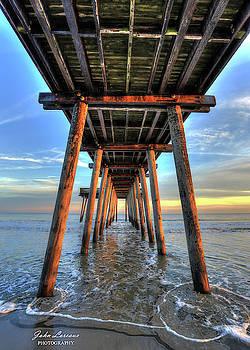 14th Street Fishing Pier by John Loreaux