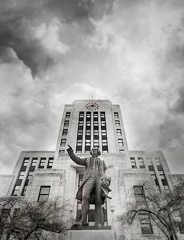 Captain George Vancouver - City Hall, Vancouver, BC. by Illumina Photographics