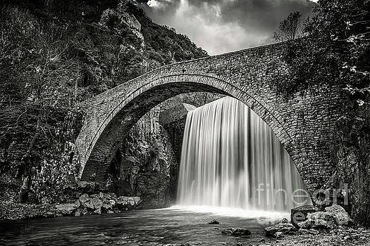 16th Century Stone Bridge by Elias Pentikis