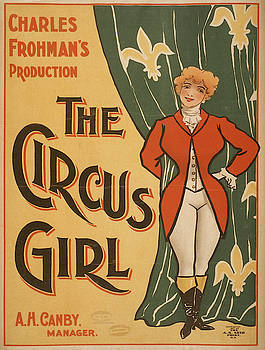 Vintage poster - The Circus Girl by Vintage Images