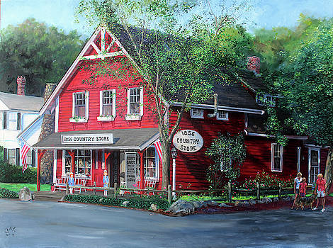 1856 Country Store by Jonathan Guy-Gladding JAG