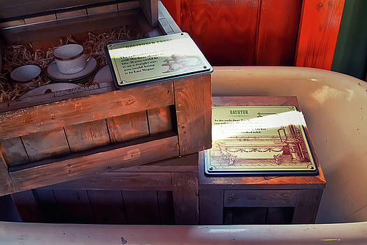 1905 Wild West shipping boxes by Tatiana Travelways
