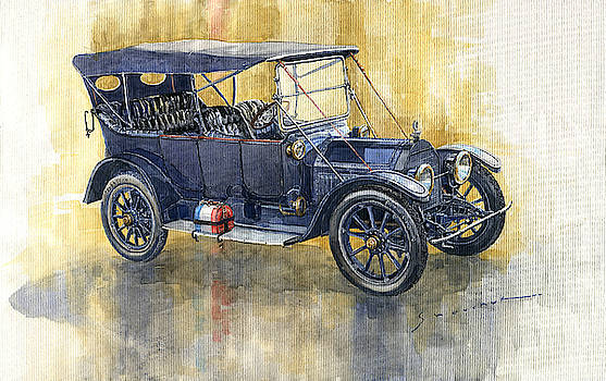 1913 Cadillac Four 30 Touring by Yuriy Shevchuk