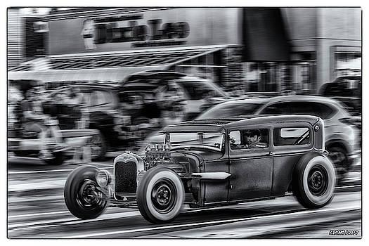 1930 Ford Model A Tudor Sedan by Ken Morris