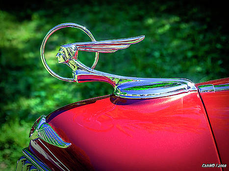1934 Pontiac Softail Hood Ornament by Ken Morris