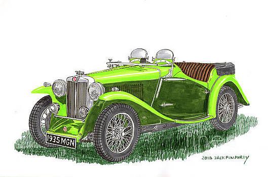 Jack Pumphrey - 1935 M G  N B Roadster