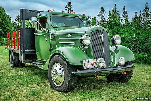 1936 Chevrolet stake bed truck by Ken Morris