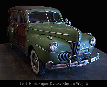 1941 Ford Super Deluxe Station Wagon by Chris Flees