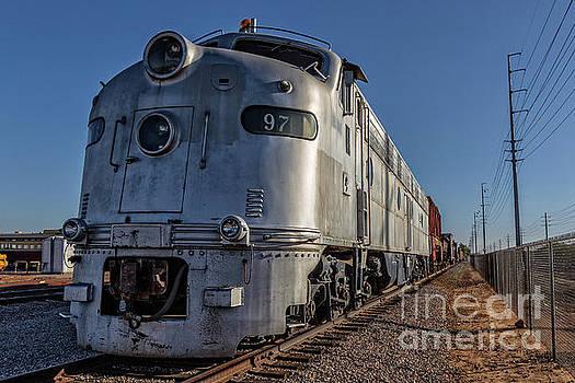 Edward Fielding - 1950s Silver Locomotive Chandler Arizona