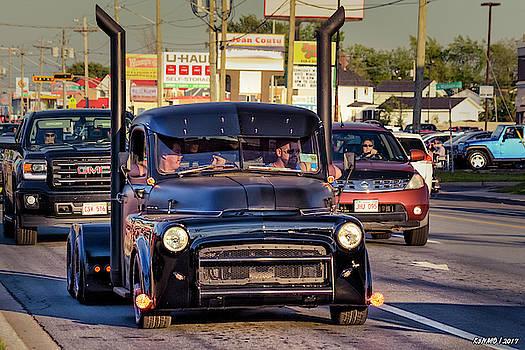 1951 Dodge Fargo tractor truck by Ken Morris