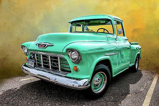 1955 Chevrolet 3100  by John Bartelt