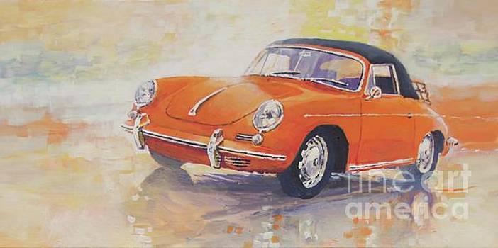 1965 Porsche 356 C cabriolet by Yuriy Shevchuk