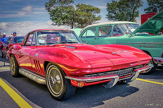 1966 Corvette Sting Ray C2 convertible  by Ken Morris