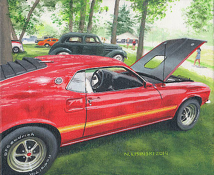 1970 Mustang Mach 1 by Norb Lisinski