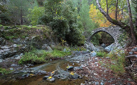 Ancient stone bridge of Elia, Cyprus by Michalakis Ppalis