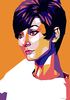 Audrey Hepburn by Stars-on- Art