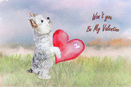 Be My Valentine by Mary Timman
