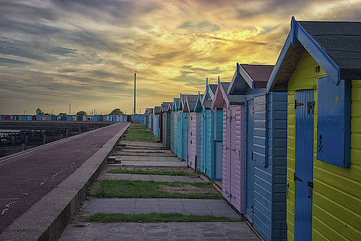 Beach Sunsets by Martin Newman