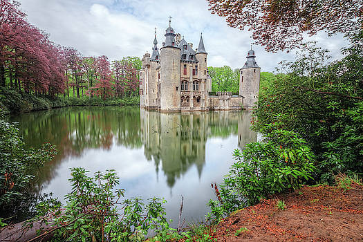 Borrekens Castle - Belgium by Joana Kruse