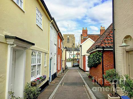Bury St Edmunds Street by Tom Gowanlock