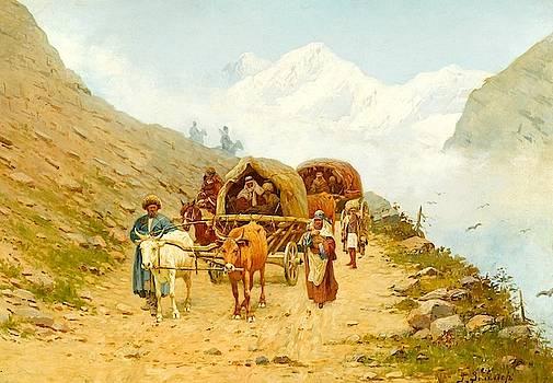 Caucasian Caravan by MotionAge Designs