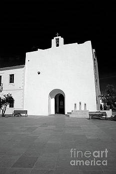 Church, San Francisco, Formentera by John Edwards