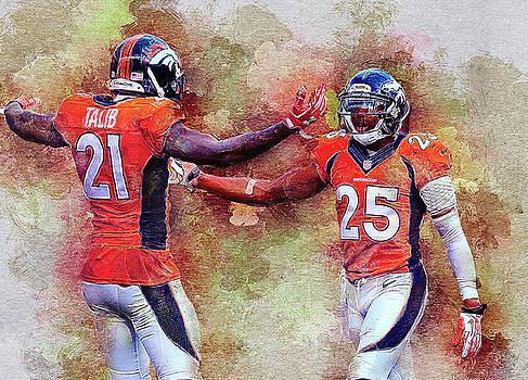 Denver Broncos by Nadezhda Zhuravleva