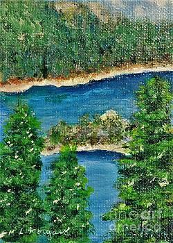 Emerald Bay Lake Tahoe by Laurie Morgan