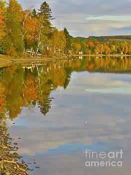 Fall reflections by Brenda Ketch