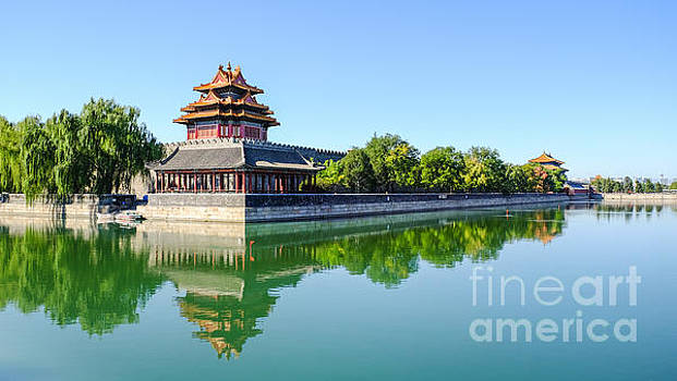 Forbidden City Watchtower  by Iryna Liveoak