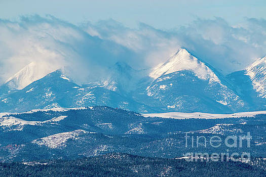 Steve Krull - Fresh Snow on the Sangre de Cristo