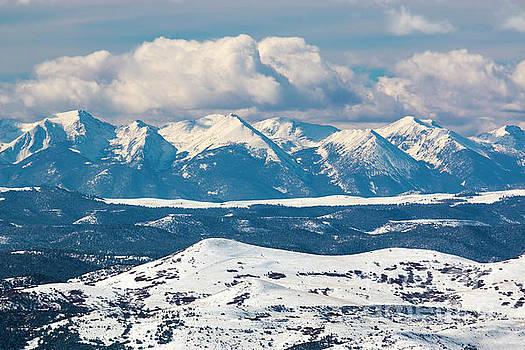 Fresh Snow on the Sangre by Steve Krull