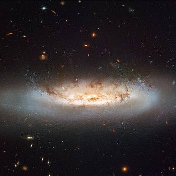 Hubble views NGC 4522 by Celestial Images