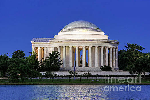 Jefferson Memorial by John Greim